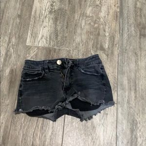 American Eagle Outfitters Shorts - AEO high rise Shortie shorts